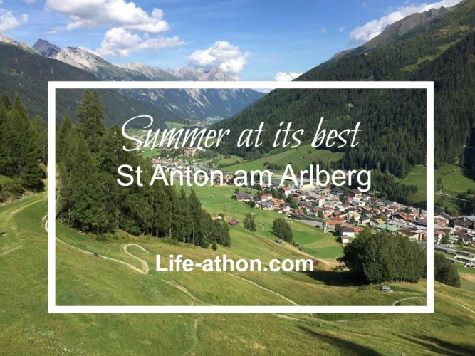Summer at At Anton am Arlberg