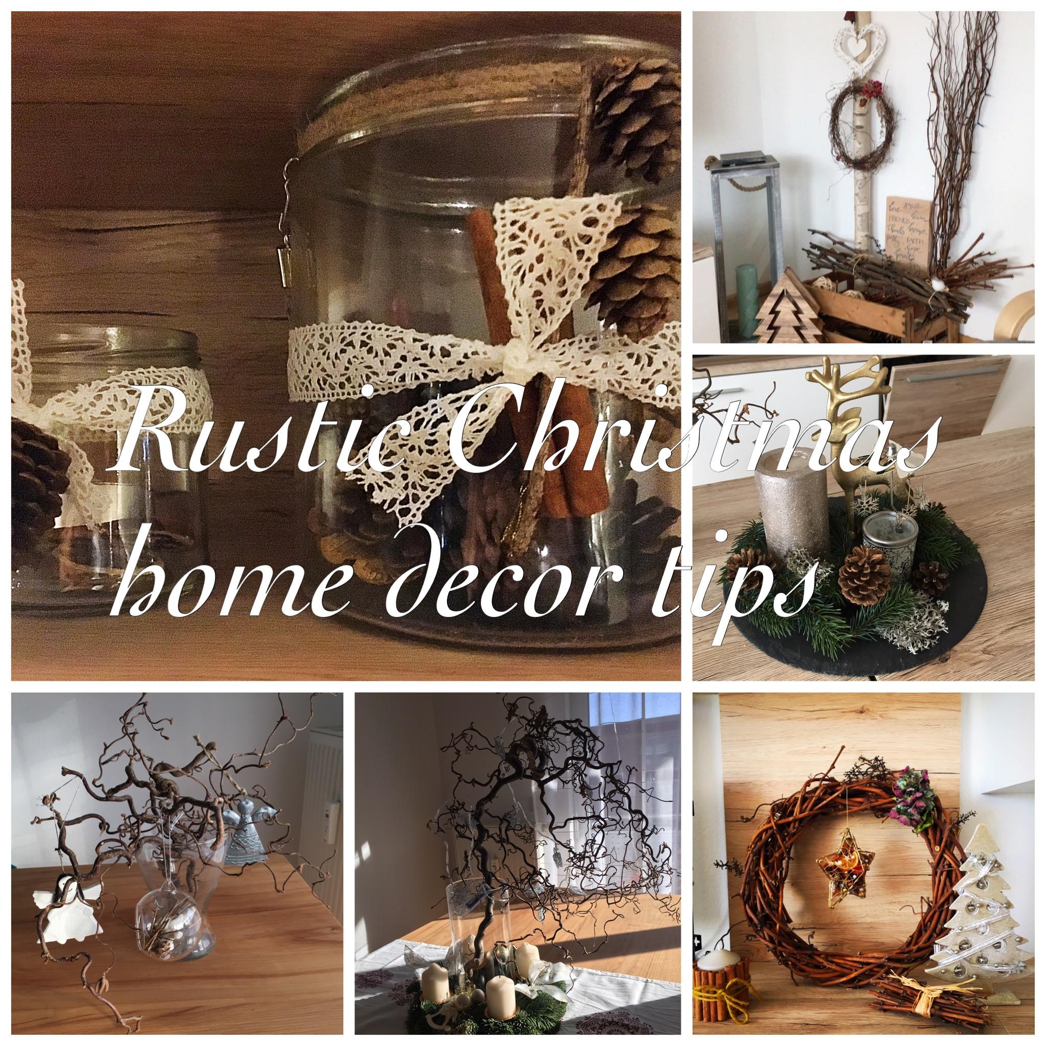 Rustic Christmas Home Decor Tips